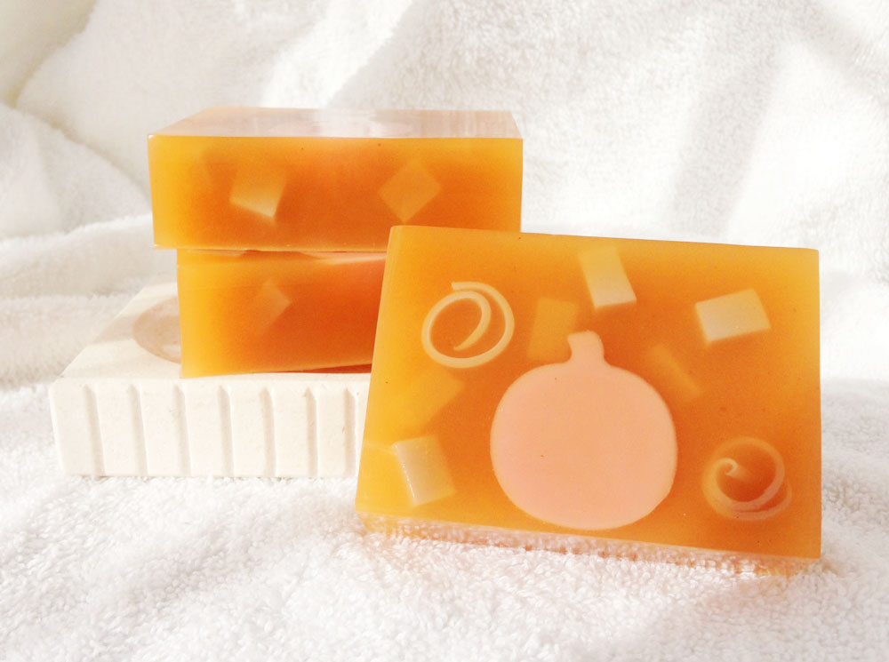 Pumpkin Maple Crunch Goat Milk and Glycerin Soaps