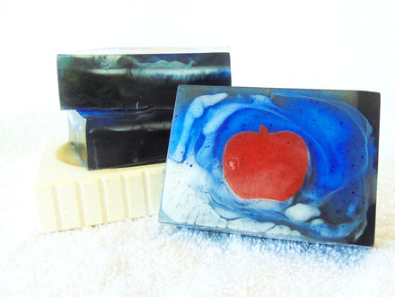 Shinigami Goat Milk and Glycerin Soap Inspired by the Shinigami from Death Note