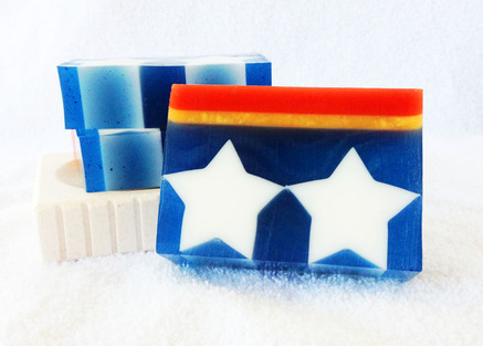 Amazon D Goat Milk and Glycerin Soap inspired by Wonder Woman