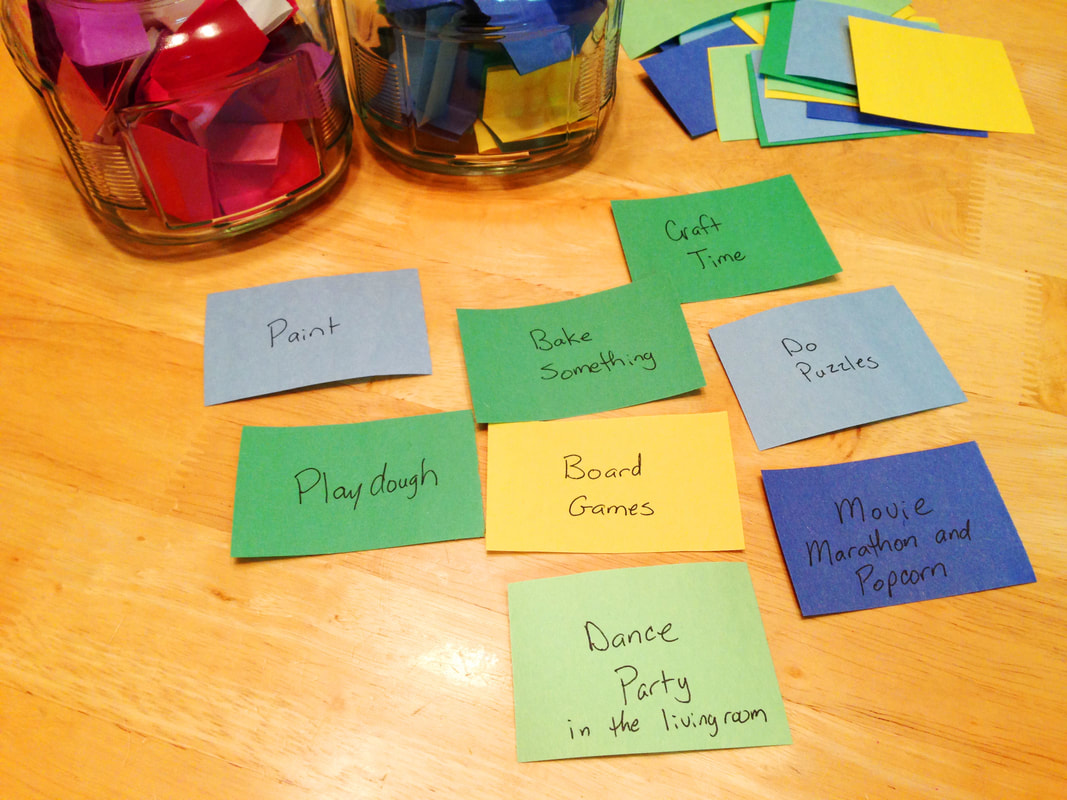 Rainy Day family activity ideas