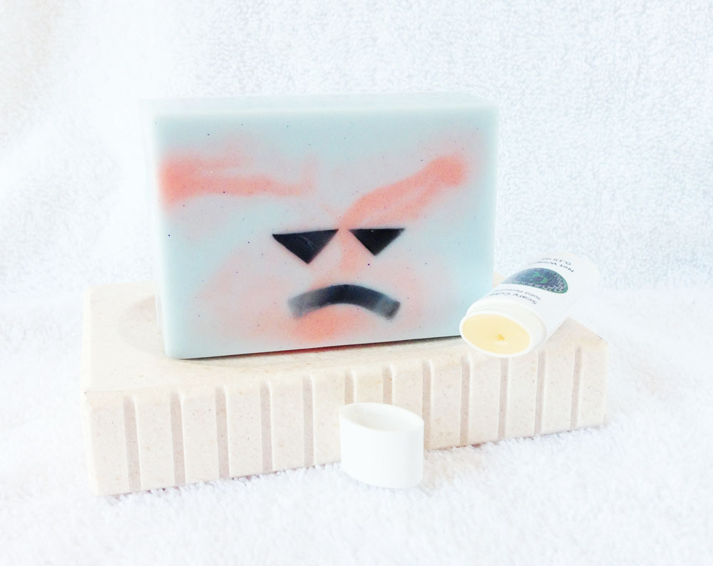Scary Cute Goat Milk and Glycerin Soap and Solid Perfume inspired by Mitsukuni