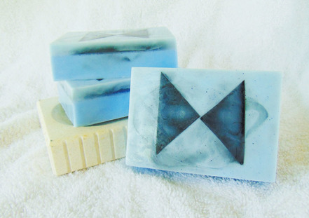 The Clown Goat Milk and Glycerin Soap Inspired by Patrick Troughton's Doctor from Doctor Who
