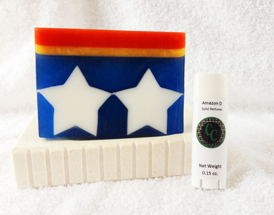 Amazon D Solid Perfume, Wonder Woman Inspired perfume, Wonder Woman, geeky perfume, fantasy perfume, comic perfume, DC comics,
