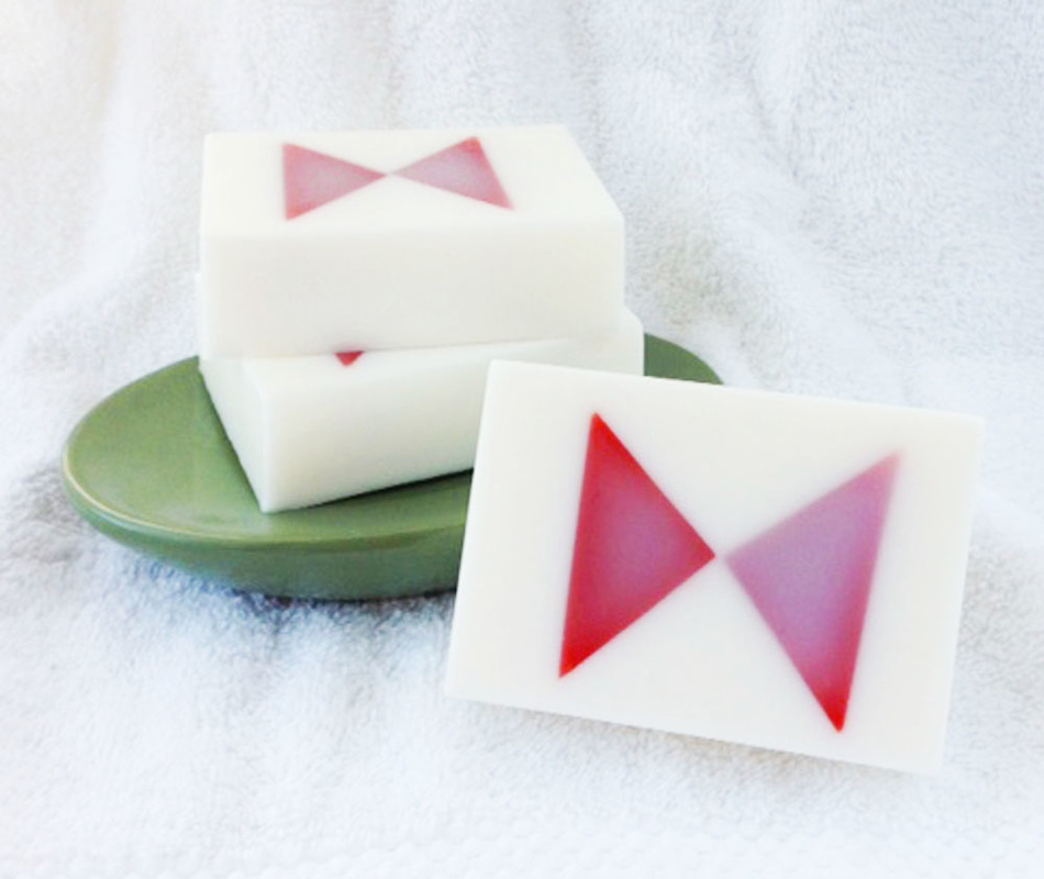 The Bow Tie Goat Milk and Glycerin Soap Inspired by Matt Smith's Doctor from Doctor Who