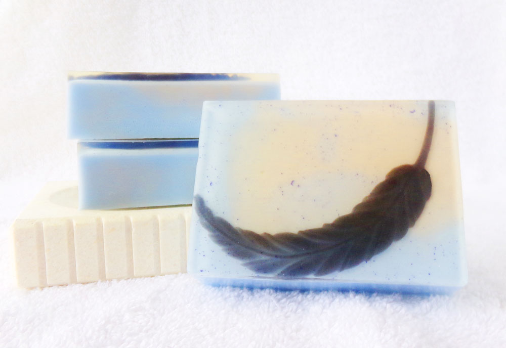 Fallen of the Lord Goat Milk & Glycerin soap inspired by Castiel from Supernatural