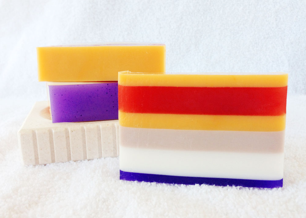 Jelly Baby Goat Milk and Glycerin Soap Inspired by Tom Baker's Doctor from Doctor Who