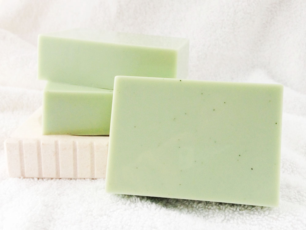 Peppermint Cream Goat Milk Soap
