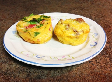 Omelette Cups Make Ahead Breakfast