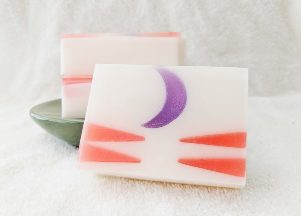 This Perfection Soap, Lord Sesshomaru inspired soap, Inuasha inspired soap, anime soap, geeky soap, goat milk soap, glycerin soap